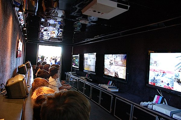 Video Game Bus party in Chicago