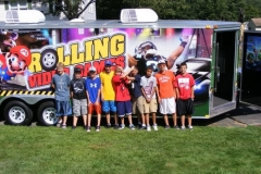 Another great birthday party in the Chicagoland video game bus
