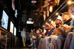 Kids playing video games in our Chicagoland video gaming bus